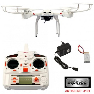 FunTomia Quadrocopter MJX X101 RC  6-Axis Gyro Quad-copter Real Time 2.4 GHz