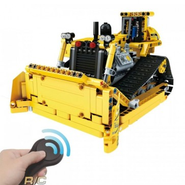 Mould King RC Bulldozer RC - 537 klemmbausteine