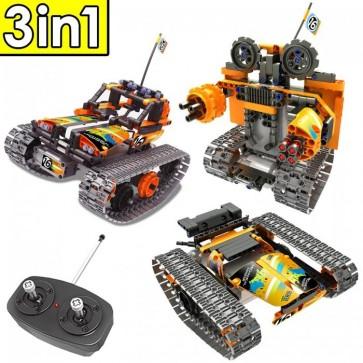 Qihui 8016  Kettenfahrzeug / Roboter - 392 Klemmbausteine