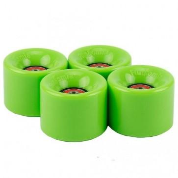 4x FunTomia® Rollen 59x45mm 82A für Mini-Board/Skateboard inkl. Mach1® Kugellager