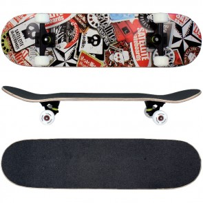 Skateboard mit ABEC-9 Kugellager / Design in Satellite