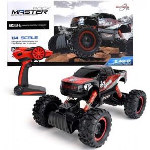 Maximum RC Ferngesteuertes Auto für Kinder - Rock Crawler / Monstertruck (rot)