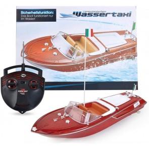 Maximum RC | Motorboot in toller Holzoptik | Spielzeug Boot für Kinder | Venezianisches Wassertaxi