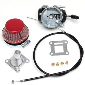 Pocket Bike Flachschieber Rennvergaser für 43 bis 53ccm Motor