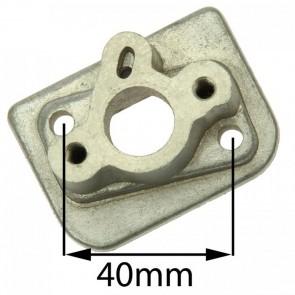 Adapter Ansaugstutzen für einen Vergaser Mach1 Benzin Scooter - Aluminium