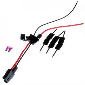1x 36V / 48V Akku Kabel Satz + Sicherung für Mach1 Elektro E-Scooter Kabelsatz