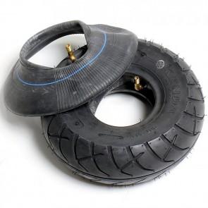 1x Reifen + 1x Schlauch 90/90-4 für Mach1 Elektro Scooter mit Strassenzulassung ( Modell-2-6 )