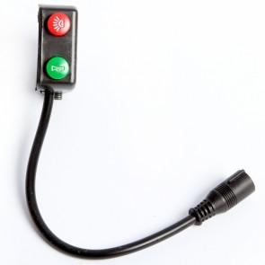 Funktionsschalter Licht / Hupe für Mach1 Elektro Scooter Modell-6A / 6B EEC-48V/1000W