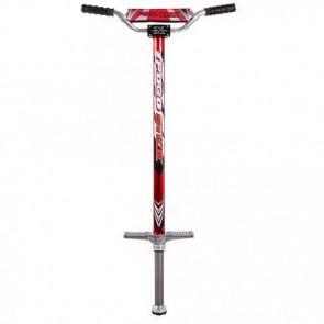 FunTomia® Pogo Stick Gr.XL ROT für 60-110 kg Hüpf Stange Sprungstange Jumper Stockhüpfen