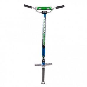 FunTomia® Pogo Stick Gr.XL BLAU für 60-110 kg Hüpf Stange Sprungstange Jumper Stockhüpfen