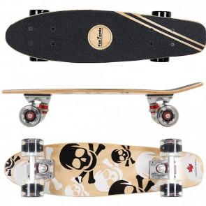 FunTomia® Mini-Board aus 7 Schichten kanadischem Ahornholz mit LED Rollen