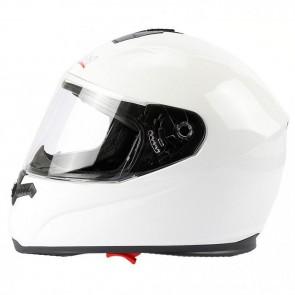 Mach1® Integralhelm mit Spoiler in der Größe XS bis XXL in Weiß-glänzend