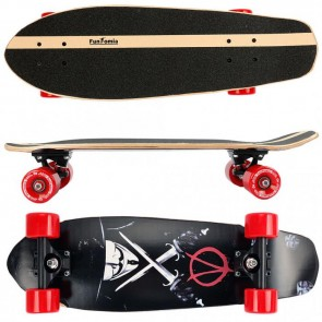 Cruiser Skateboard aus 7-lagigem kanadischem Ahornholz