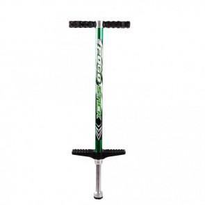 FunTomia® Pogo Stick Gr.S grün für 15 - 40 kg Hüpf Stange Sprungstange Jumper Stockhüpfen