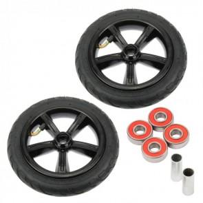 2 Stück 205mm Big Wheel Kick Scooter Air Luft Reifen