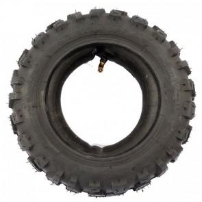 Reifen + Schlauch 90/65-6.5 XXL Stollenreifen für Mach1 Elektro und Benzin Scooter