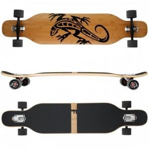 FunTomia Longboard Bambus/Ahorn - Farbe Gecko (Flex2)