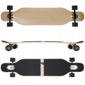 FunTomia Longboard Ahornholz - Farbe Blanko (Flex1)