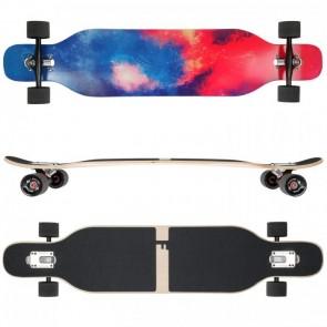 FunTomia Longboard Ahornholz Farbe Galaxy (Flex2)