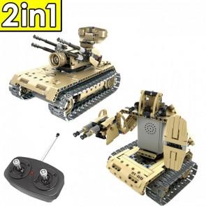 Qihui 8012  Panzer / Kampf-Roboter - 457 Klemmbausteine