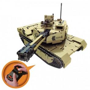 Qihui 9801 Ferngesteuerter Militär Panzer - 502 Klemmbausteine