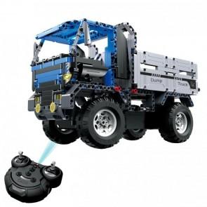 CaDa C51017W  Blauer LKW / Truck - 638 klemmbausteine
