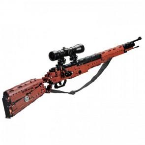 CaDa C61010W  Scharfschützen Gewehr - 653 klemmbausteine