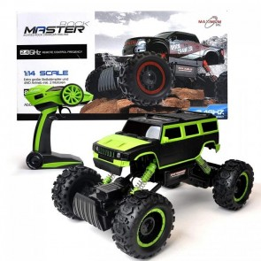 Maximum RC Ferngesteuertes Auto für Kinder - Rock Crawler / Monstertruck (Grün)