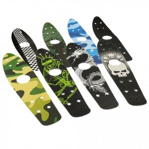 FunTomia Griptape Tape OSA 780 55 x 12,5cm- 22 inch für Mini-Board/Skateboard Board selbstklebend verschiedene Designs