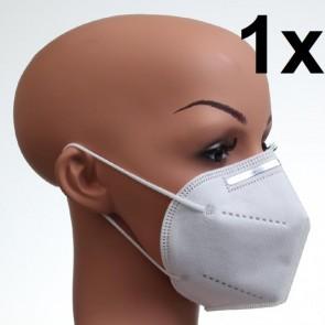 1 Stück KN95 Maske Atemschutzmaske Feinstaubmaske